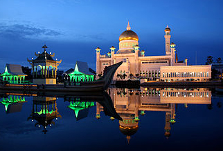Brunei at night