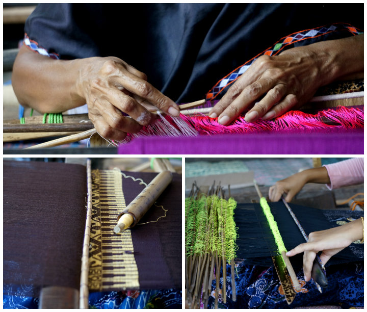 Despite the changes happening in Lombok, traditional crafts are still popular.