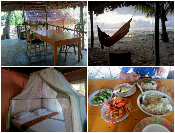 There is nothing stressful about a holiday in Wakatobi.