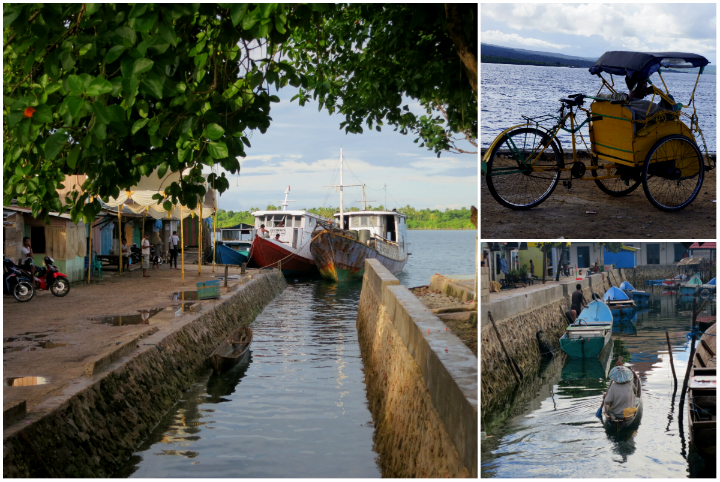 Local ferries are the only way to get between the islands of Wakatobi.