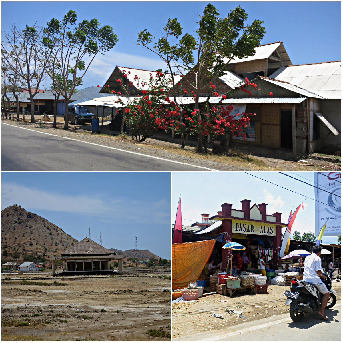 Much of Sumbawa remains under developed , though the infrastructure is already here.
