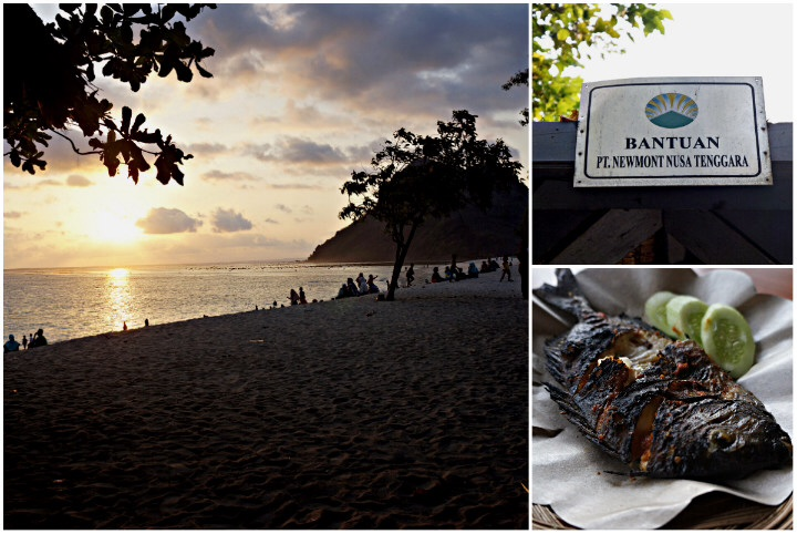 Great food and beautiful beaches make Sumbawa a nice choice for a relaxed holiday.