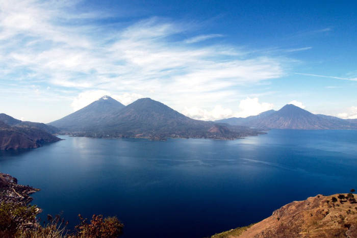 the best lake in the world - guatemala